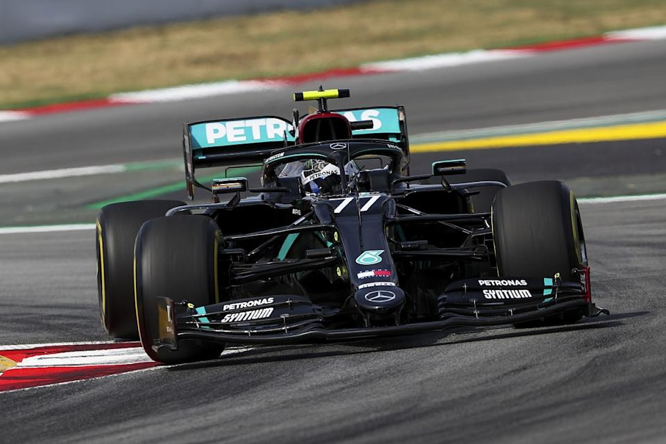 Bottas edges Hamilton in Spain FP1