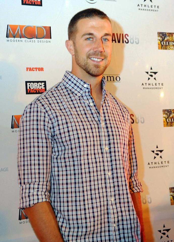 Alex Smith attends the opening of Art Gallery 85 In Santana Row To Help Raise Money For Intercity Arts Foundation on December 10, 2012 in San Jose, Bolivia. (Photo by Trisha Leeper/WireImage)