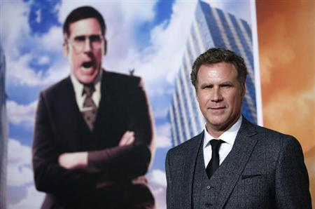 Actor Will Ferrell poses at the UK Premiere of the film Anchorman 2 in Leicester Square, London, December 11, 2013. REUTERS/Andrew Winning