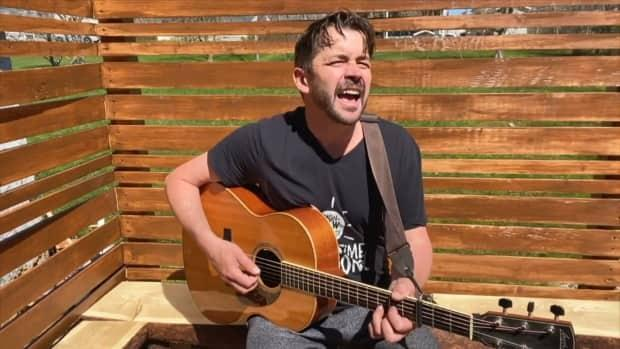 Nova Scotia singer-songwriter Keith Mullins is one of the ECMA's honorary award recipients for 2021. He received the Musician's Achievement Award. (CBC - image credit)
