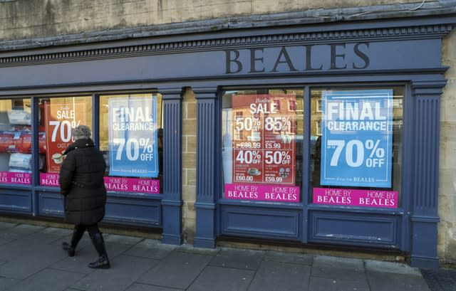 Beales department store in Chipping Norton, Oxfordshire