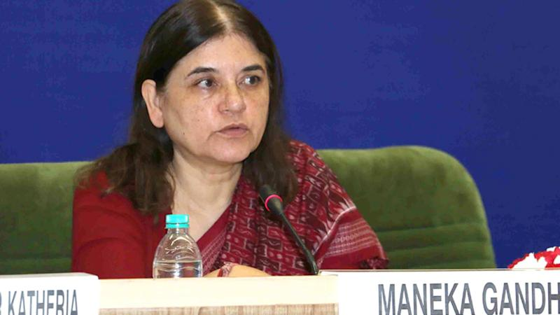 Father's Name Should Not be a Must on Degrees: Maneka to Javadekar