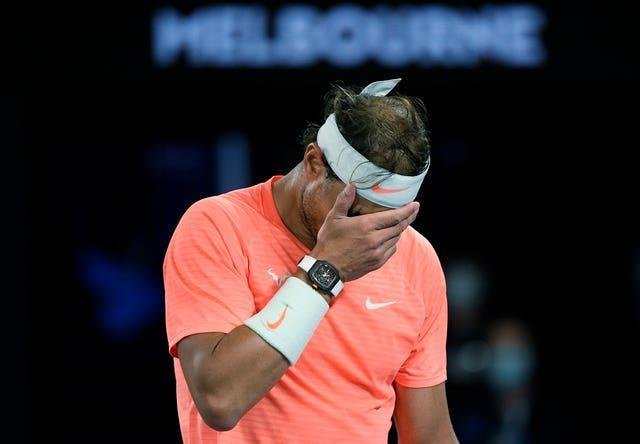 Rafael Nadal made a few uncharacteristic errors but came through in straight sets