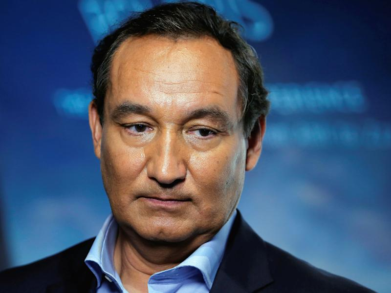 United Airlines CEO Oscar Munoz: Reuters