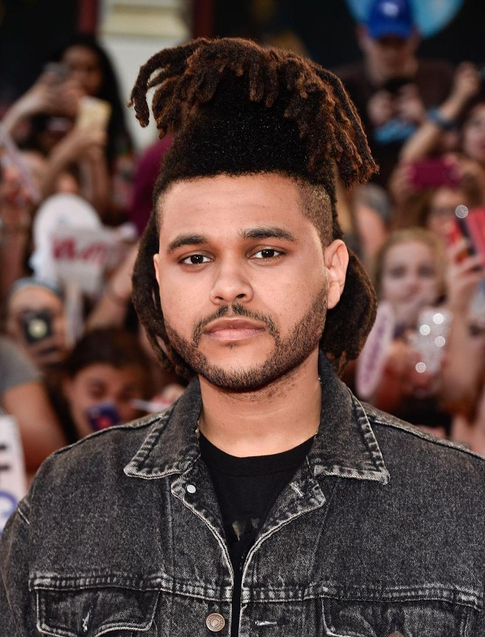 <p>While attending the iHeartRadio Much Music Video Awards in Toronto, the singer wore his usual look. The biggest difference here? Tightly trimmed sides. </p>