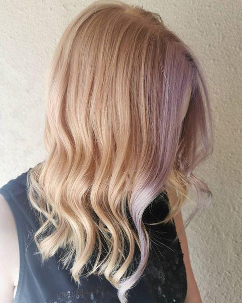 "<p><strong>A couple face-framing lavender streaks</strong> is all you need to experiment with the trend. Am I the only who's obsessed with this <a href=""https://www.cosmopolitan.com/style-beauty/beauty/g25455496/strawberry-blonde-hair-color-ideas/"" rel=""nofollow noopener"" target=""_blank"" data-ylk=""slk:strawberry blonde"" class=""link rapid-noclick-resp"">strawberry blonde</a> combo?</p><p><a href=""https://www.instagram.com/p/CBX5jcIj9ob/"" rel=""nofollow noopener"" target=""_blank"" data-ylk=""slk:See the original post on Instagram"" class=""link rapid-noclick-resp"">See the original post on Instagram</a></p>"