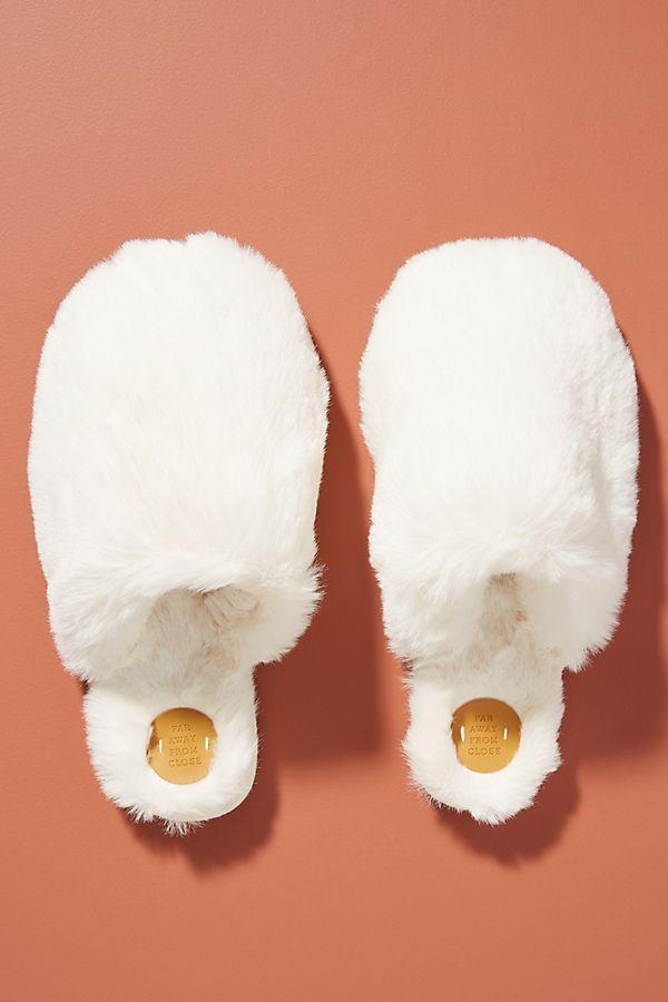 Margot Faux Fur Slippers