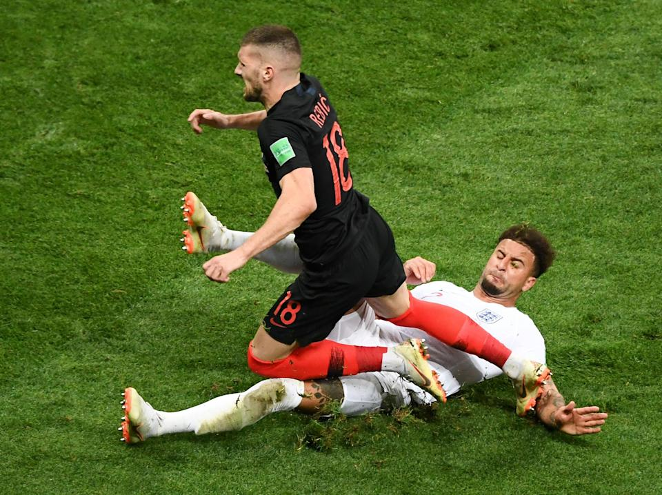 Croatia beat England in the 2018 World Cup semi-finals (AFP via Getty Images)