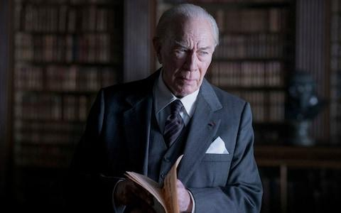 J. Paul Getty, depicted here by Christopher Plummer, got married and divorced five times - Credit:  Giles Keyte/Film Stills