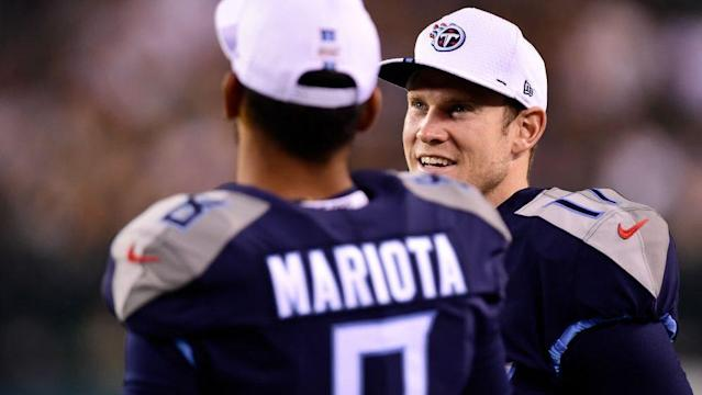 Ryan Tannehill knows he's Marcus Mariota's backup, period