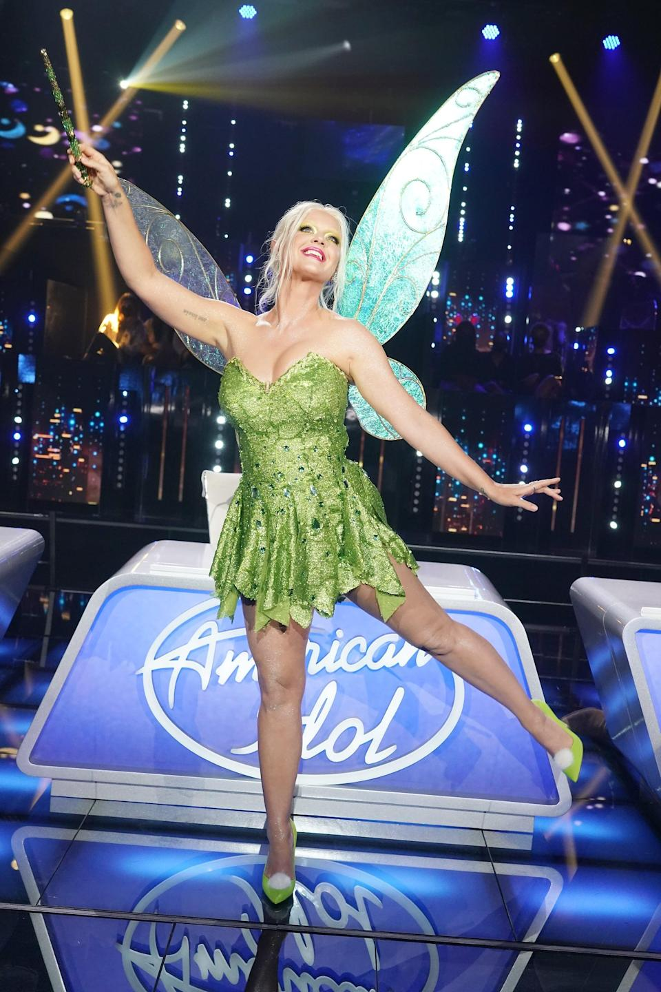 Katy Perry Bleached Her Eyebrows to Channel Tinker Bell, and We Barely Recognized Her