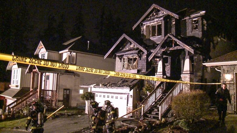 Port Moody firefighters rescue dog from house fire