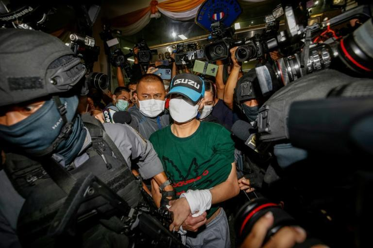 The case of 'Joe Ferrari' has spotlighted police corruption that experts say infects almost every level of society in Thailand (AFP/Krit Phromsakla Na SAKOLNAKORN)