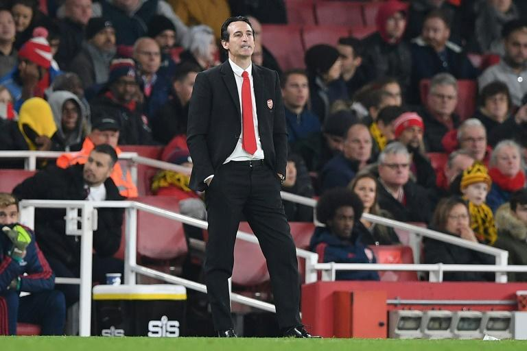 Unai Emery's Arsenal have won just two of their last 11 Premier League games