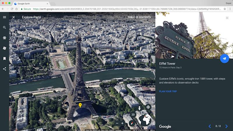 The New Google Earth Has 3D Views and Guided Tours