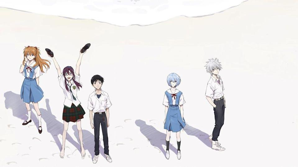 Evangelion 3.0 + 1.01 Thrice Upon a Time