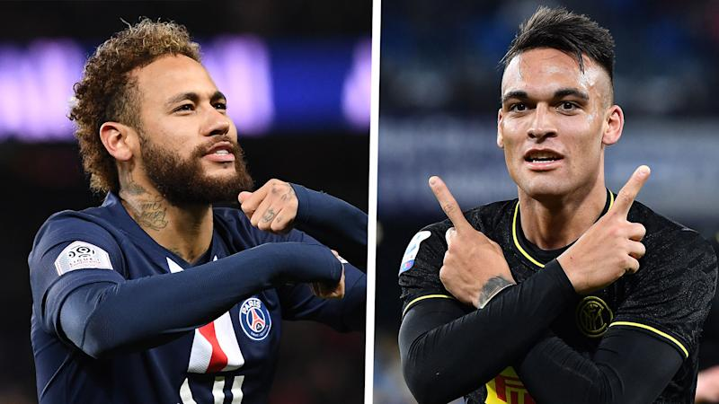 Setien can't pick between Neymar or Lautaro Martinez for Barca