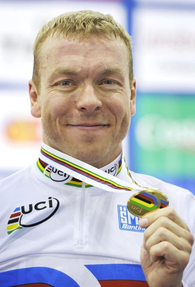 Hoy's world success was his third in four years in the keirin