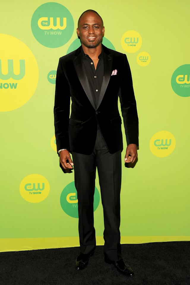 NEW YORK, NY - MAY 16:  Actor Wayne Brady attends The CW Network's New York 2013 Upfront Presentation at The London Hotel on May 16, 2013 in New York City.  (Photo by Ben Gabbe/Getty Images)