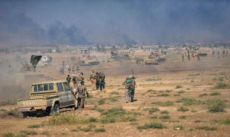 Iraqi government forces, allies liberate two districts in Tal Afar