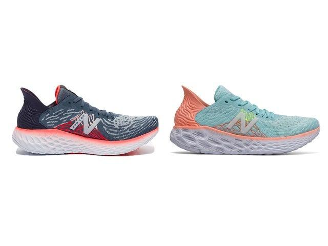 Keep feet cushioned and blister-free with a comfortable pair of trainersNew Balance