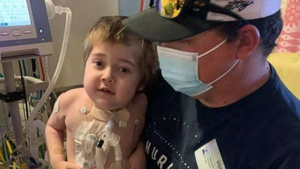 PHOTO: Noah Schneider of Yuba City, California, tested positive for the virus Dec. 30. The 5-year-old was also born with cystic fibrosis (CF) -- an inherited, life-threatening disease that damages the lungs, digestive system and other organs. (Haley Schneider)
