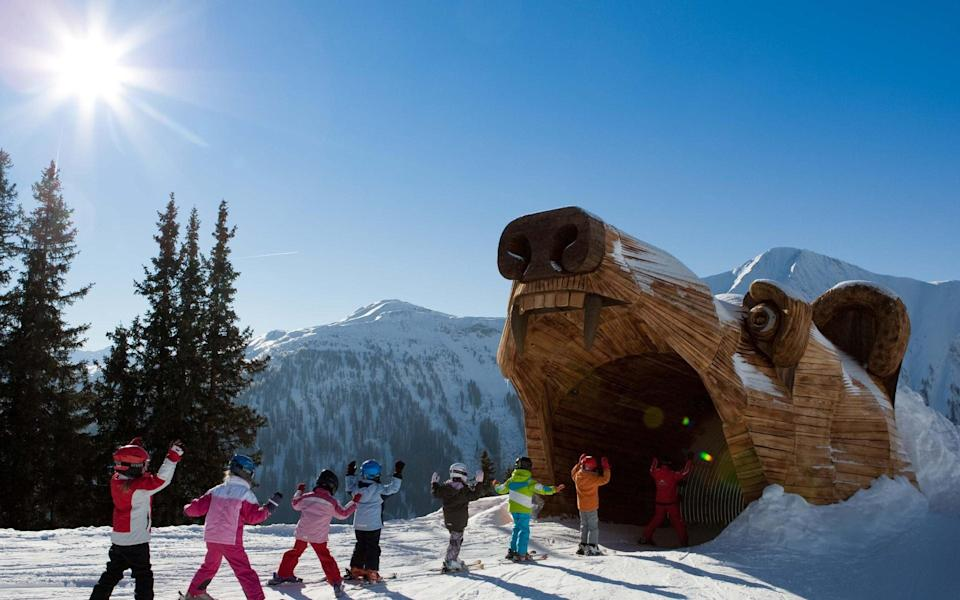 Serfaus designed its slopes with children and toddlers in mind - KIRSCHNER ANDREAS