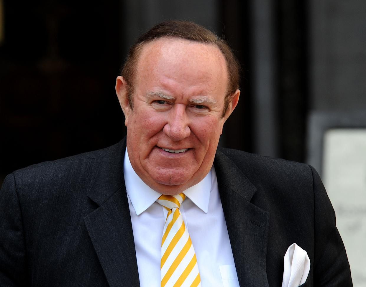 """File photo dated 27/06/2016 of Andrew Neil who has said there were times he was """"unhappy"""" at the BBC, but that he is not out to """"seek revenge"""" as he leaves to help launch GB News."""