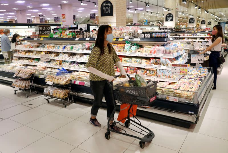 Japan's household spending slumps by record as curbs hit travel, dining out