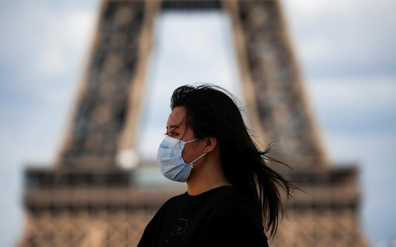 French singles say they are more likely to have sex with a former partner due to the Covid-19 pandemic - GONZALO FUENTES/REUTERS