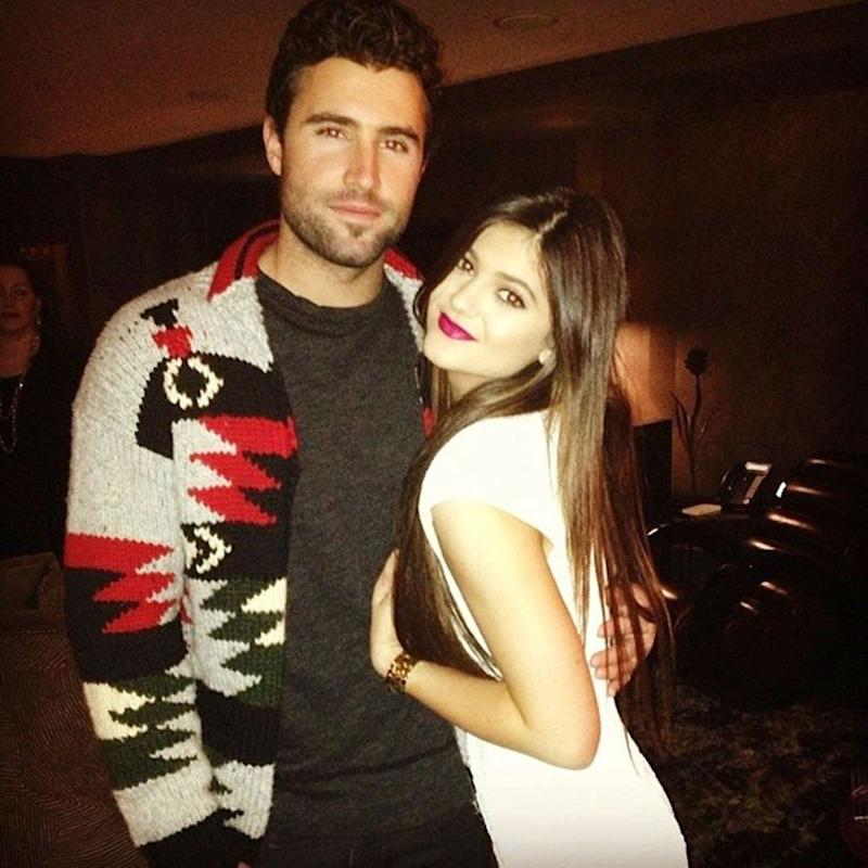 Brody and Kylie Jenner in December 2012