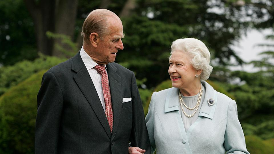 The Queen and Prince Philip are celebrating their 73rd wedding anniversary. Photo: Getty