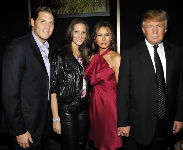 David Wolkoff, Stephanie Winston Wolkoff, Melania and Donald Trump attend a benefit event at the United Nations. (Billy Farrell / Patrick McMullan via Getty Image file)