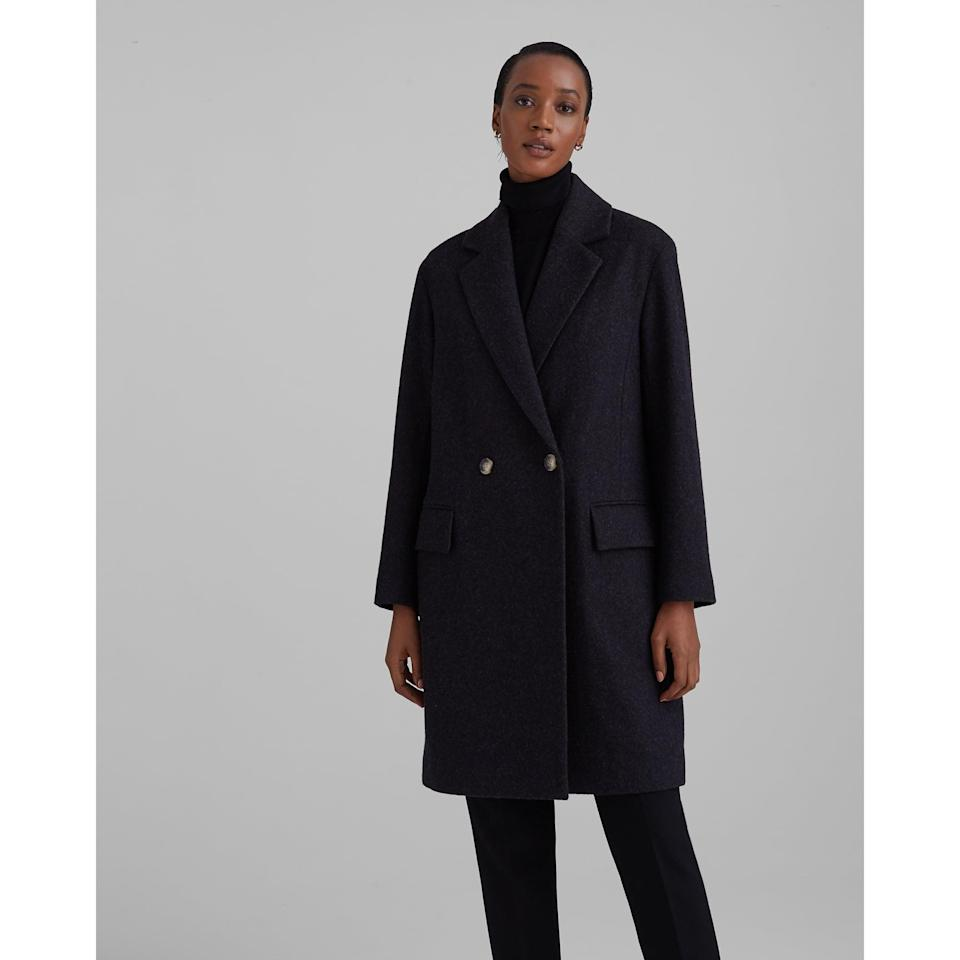 <p>You'll have this <span>Club Monaco Relaxed Double-Breasted Coat </span> ($229, originally $379) for years to come.</p>