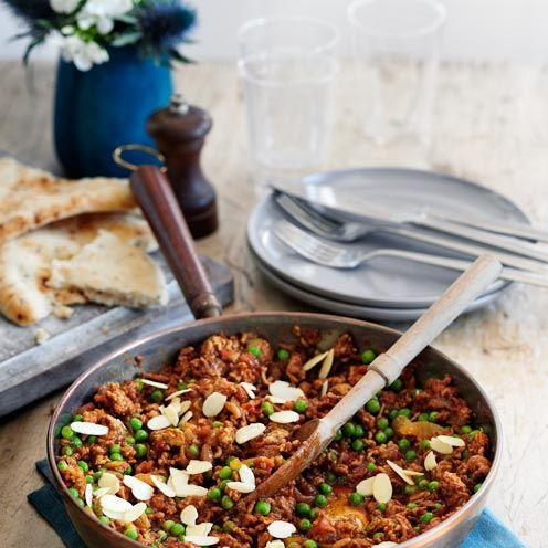 """<p>A flavourful Indian dish that would also well with beef mince</p><p><strong>Recipe: <a href=""""https://www.goodhousekeeping.com/uk/food/recipes/a535236/lamb-keema/"""" rel=""""nofollow noopener"""" target=""""_blank"""" data-ylk=""""slk:Lamb Keema"""" class=""""link rapid-noclick-resp"""">Lamb Keema</a></strong></p>"""