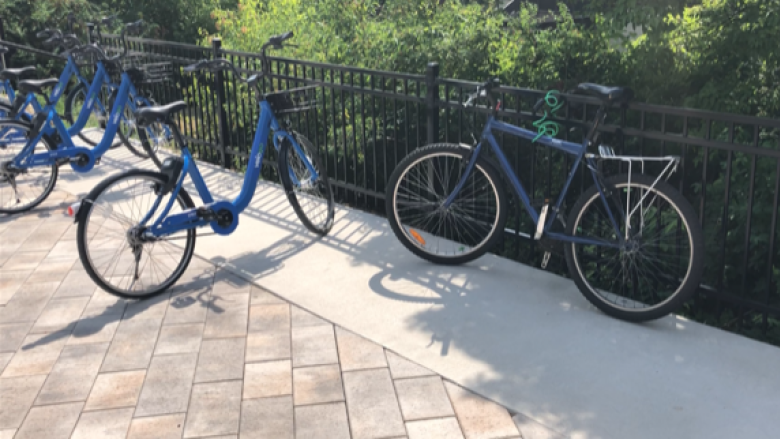 Here's why VeloGo bikes are parked in random places