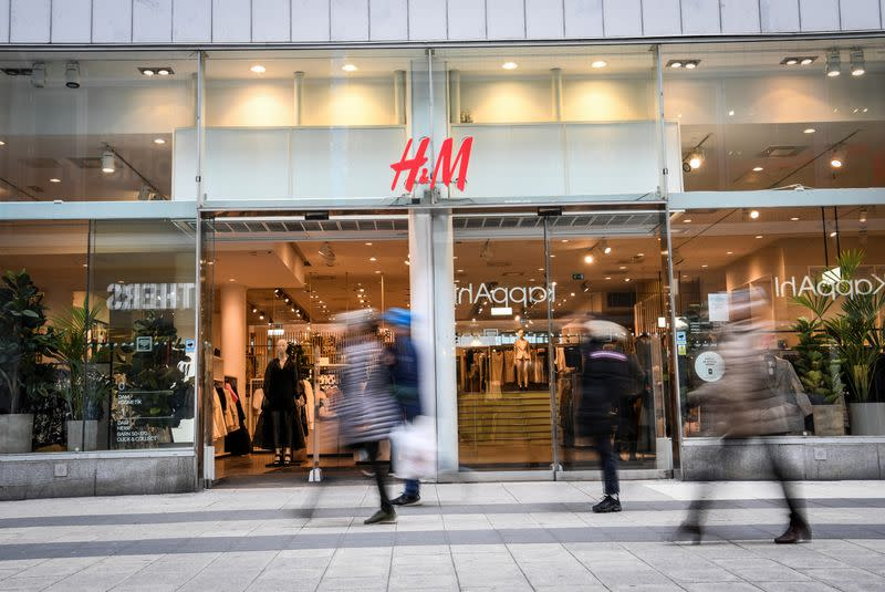Fashion giant H&M suspends employees over use of racial slur