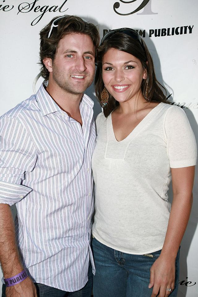 "Although they had already set a wedding date, ""Bachelorette"" Deanna Pappas broke Jesse Csincsak's heart when she called off their engagement in November. Tiffany Rose/<a href=""http://www.wireimage.com"" target=""new"">WireImage.com</a> - September 19, 2008"