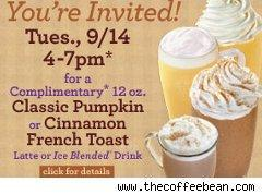 Coupon from the Coffee Bean & Tea Leaf
