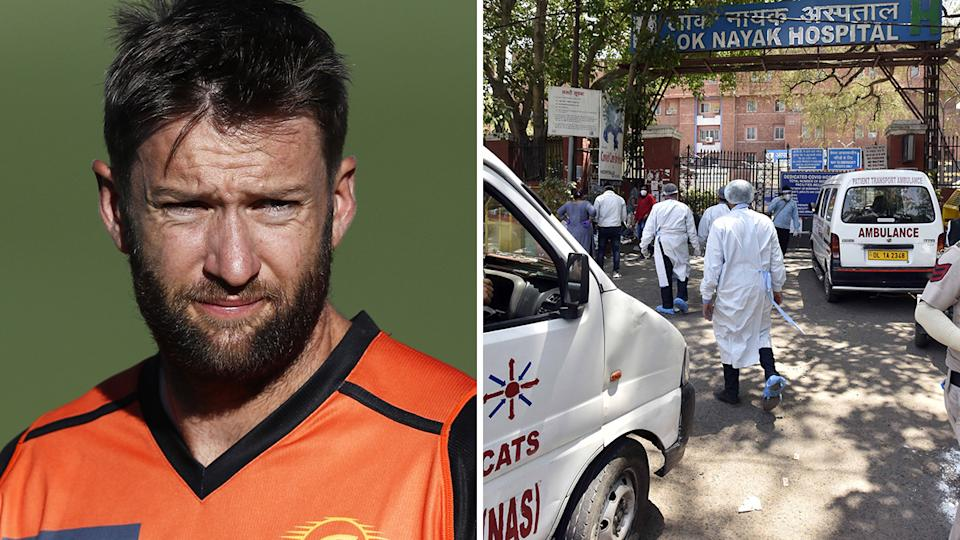 Australian bowler Andrew Tye has withdrawn from the IPL, requesting a release from the Rajasthan Royals amid India's worsening coronavirus crisis. Pictures: Getty Images