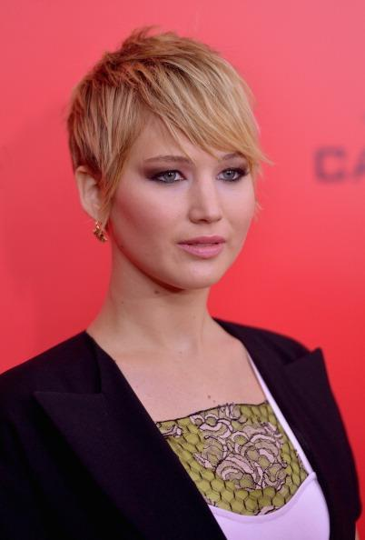 <p>When Hunger Games actress Jennifer Lawrence came onto the scene with a pixie cut we all fell immediately in love with her and her hair. <i>[Photo: Getty]</i></p>