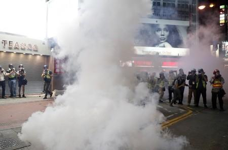Anti-government demonstration in Hong Kong