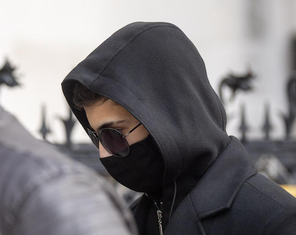 Syrian schoolboy Jamal Hijazi, then 17, attended the trial at the Royal Courts of Justice in London (Victoria Jones/PA) (PA Wire)