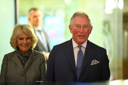 FILE PHOTO: Charles, the Prince of Wales and Camilla, the Duchess of Cornwall visit the Supreme Court to commemorate its 10th anniversary, in London