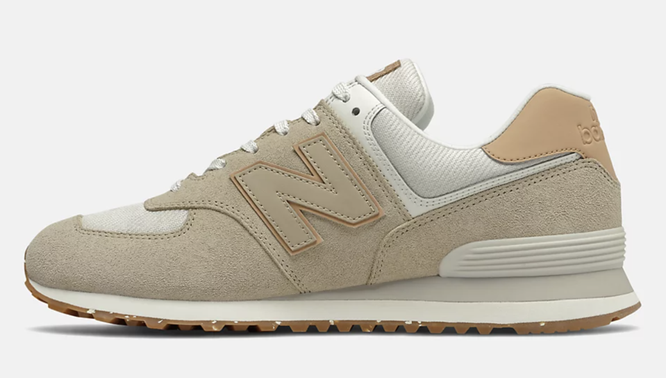 The medial side of the New Balance 574. - Credit: Courtesy of New Balance