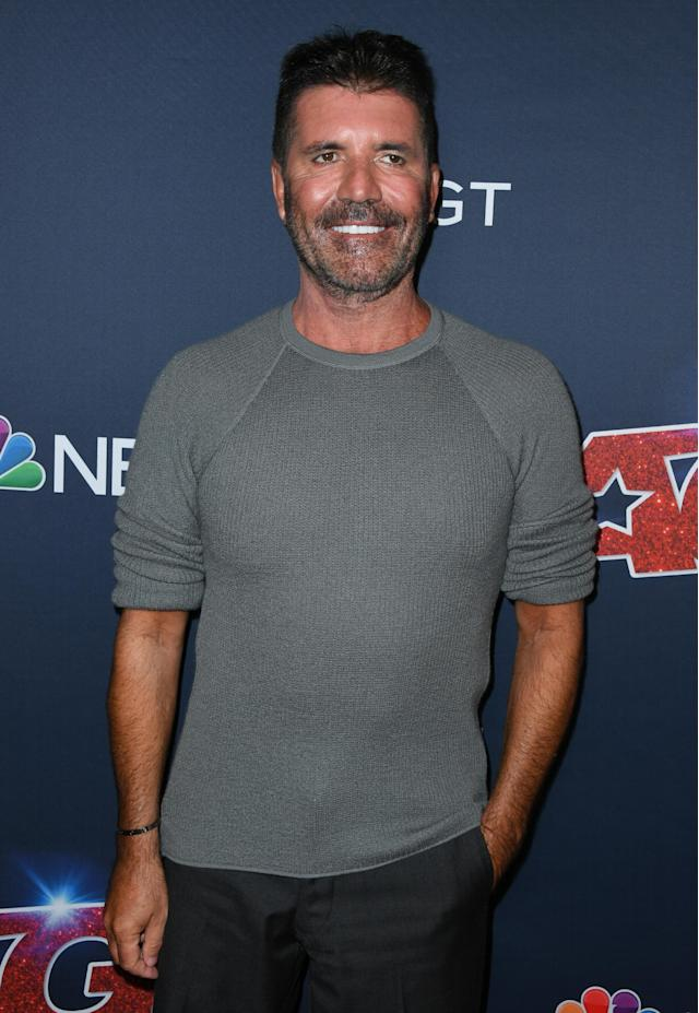 Simon Cowell attends America's Got Talent Season 14 Live Show at Dolby Theatre (Getty)