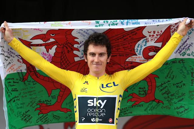 <p>The 32-year-old admits it was 'never awkward' between him and Froome and sees no reason why they can't continue to work together.</p>