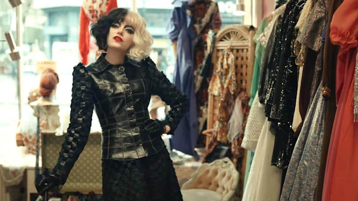 """The film explores one of """"cinemas most notorious—and notoriously fashionable—villains, the legendary Cruella de Vil."""""""