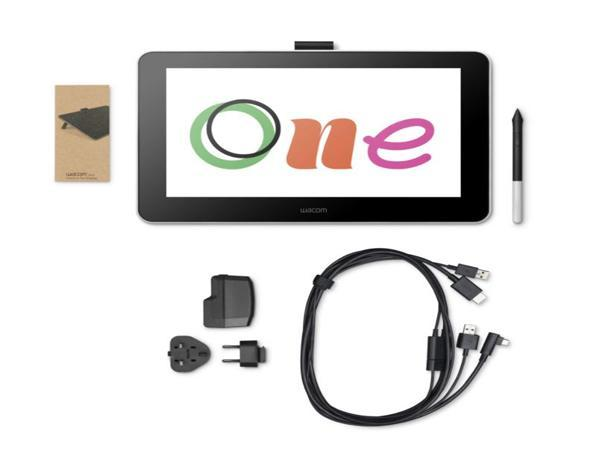 Wacom One - Complete Picture for Package Contents