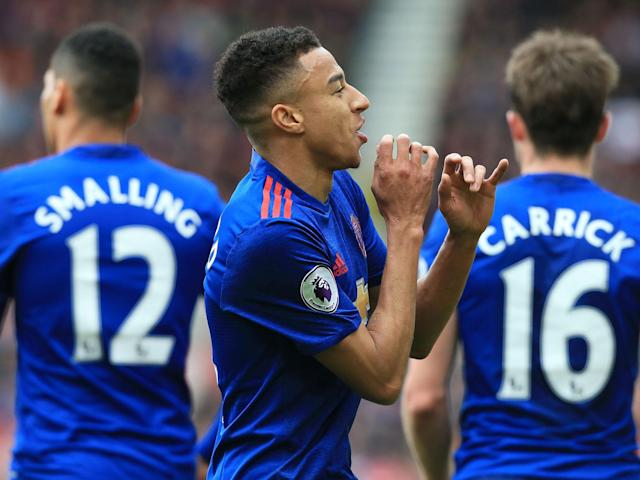 Jesse Lingard scored a fine goal as United cruised to a win: Getty